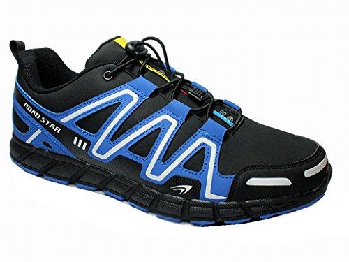 Shoes Blau Schnürschuhe Runner Roadstar Sportschuhe Schwarz Übergröße Turnschuhe Unisex Herren Sneaker vHA8Uqv