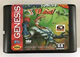 Games Cartridge - Earth Worm Jim For 16 bit Sega MegaDrive Genesis Sega Game console