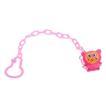A0127 - Cadena para chupete infantil, diseño de animales R ...