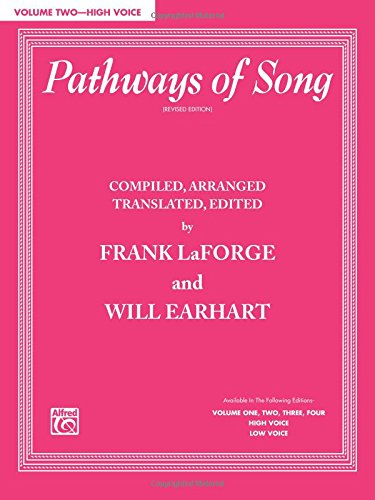 Pathways of Song, Vol 2; High Voice