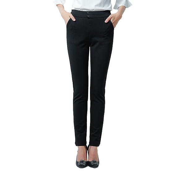 Chino Missfox Femme Classique Tendance À Slim Pantalon BB4wapqx