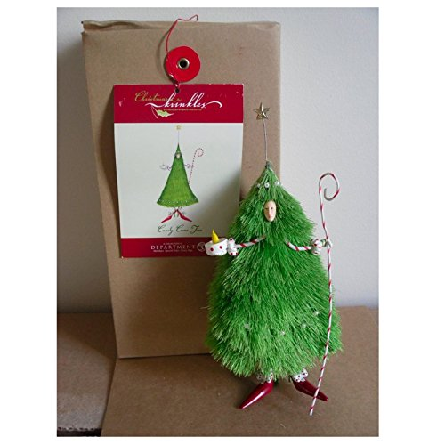 Christmas Krinkles Department 56 Brewster Candy Cane Tree (Krinkles Tree 56)