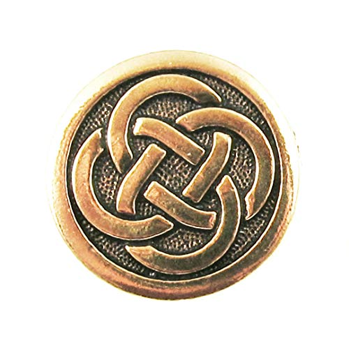 TierraCast Pewter Buttons-GOLD CELTIC KNOT (2)