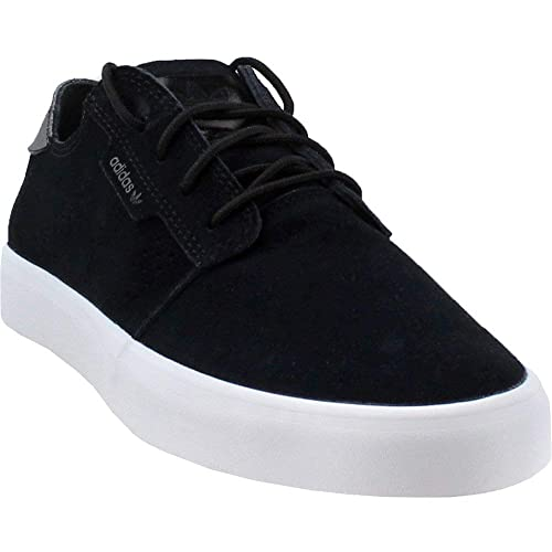 reputable site adc79 a9e2e adidas Originals Men s Seeley Essential Running Shoe, Black White, ...