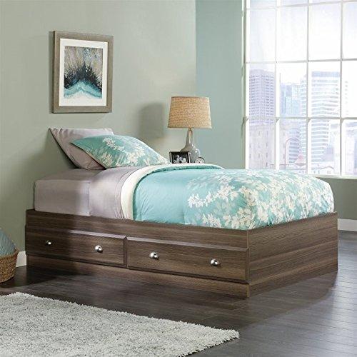 win Mates Bed in Diamond Ash (Ash Metal Bed)