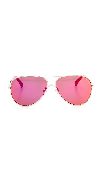 sonnenbrille Deluxe Damen rosa Kategorie 3