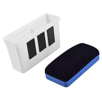 WXJ13 - Soporte magnético de plástico para pizarra blanca (borrado en seco, con borrador magnético)