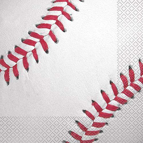 BirthdayExpress Baseball Lunch Napkin -