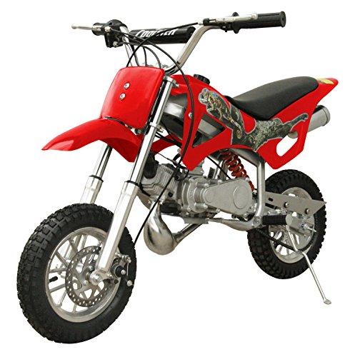49cc 50cc 2-Stroke Gas Motorized Mini Dirt Pit Bike (Gas Dirt Bikes For 14 Year Olds)