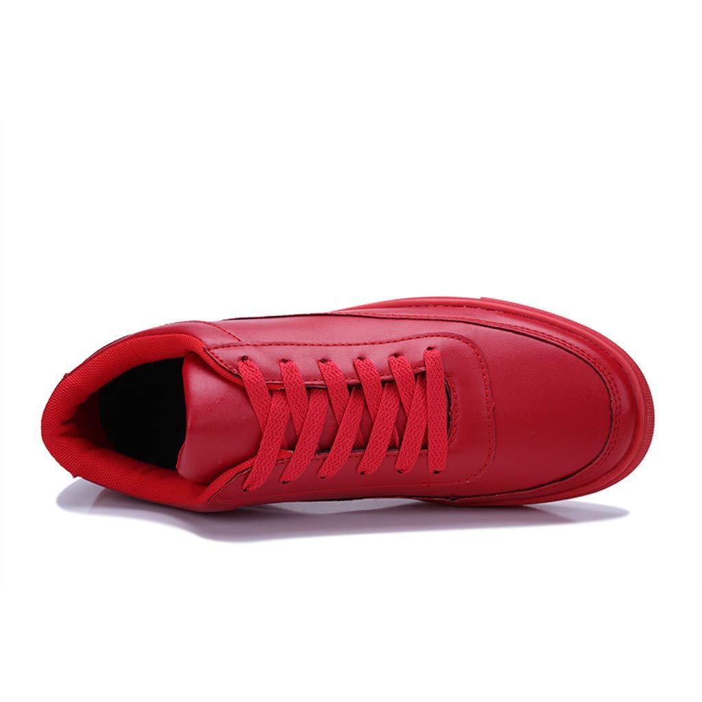 Sayla Zapatos Casual Moda De Los Hombres Verano Casa Zapatillas Deportivas Ligeras con Cordones De Color S/óLido