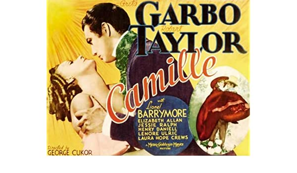 NEW Camille Movie POSTER 27 x 40 Greta Garbo Lionel Barrymore Robert Taylor