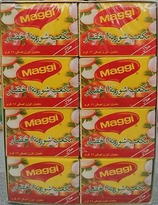 Maggi Vegetable Stock Cube (Halal) case 24x22g