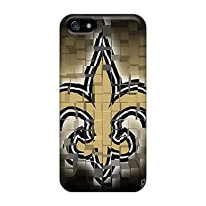 Perfect New Orleans Saints Cases Covers Skin For Iphone 5/5s Phone Cases