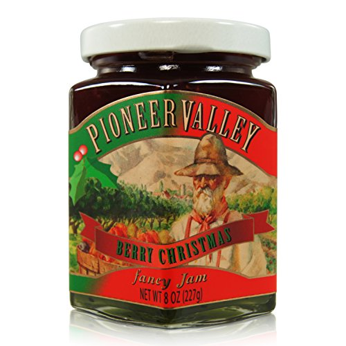 - Pioneer Valley Gourmet Berry Christmas Jam (8oz.)