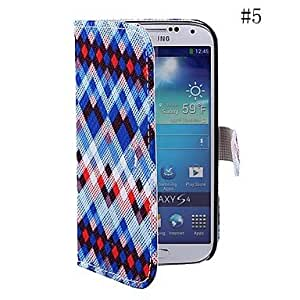 LIMME Coway Geometric Color Diamond Sticking Cloth Mobile Phone Holster Case for Samsung S4 i9500(Assorted Color) , 4#