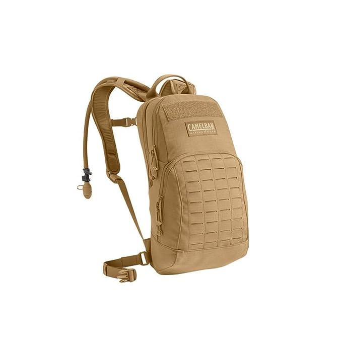 CamelBak: mochila militar con cantimplora, Unisex adulto, 60306-CAP-P, Marrón claro, talla única: Amazon.es: Deportes y aire libre