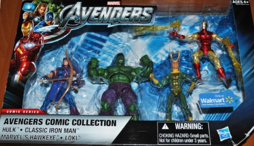 Marvel The Avengers Exclusive Comic Collection 4-Pack 02