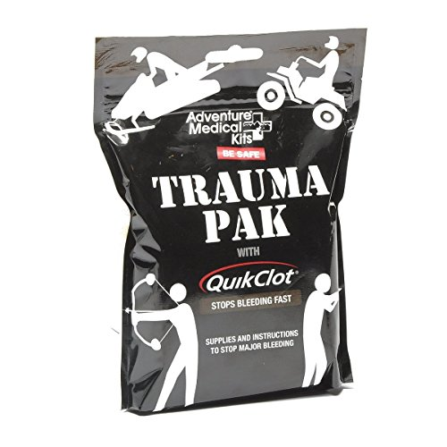 Adventure Medical Kits Trauma Pak First Aid Kit with QuikClot Advanced Clotting Sponge