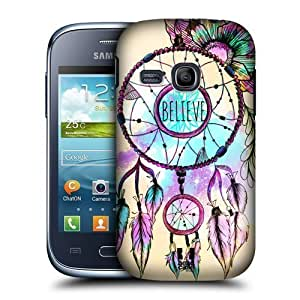 AIYAYA Samsung Case Designs Dreamcatcher Trend Mix Protective Snap-on Hard Back Case Cover for Samsung Galaxy Young S6310 by icecream design
