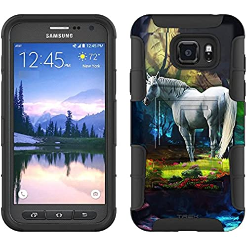 Samsung Galaxy S7 Active Armor Hybrid Case Unicorn 2 Piece Case with Holster for Samsung Galaxy S7 Active Sales