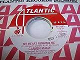 CARMEN MCRAE 45 RPM My Heart Reminds Me / Gloomy Sunday