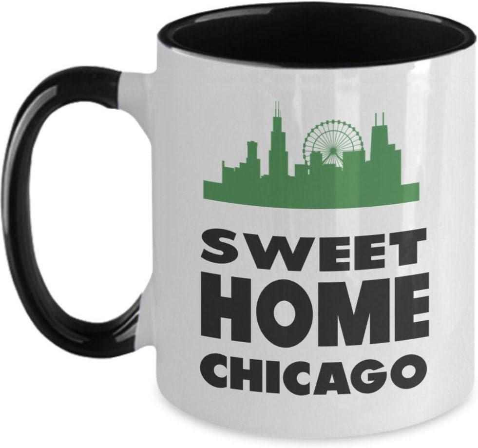Mug-Sweet Home Chicago Mugs, 11oz Funny Coffee Mug
