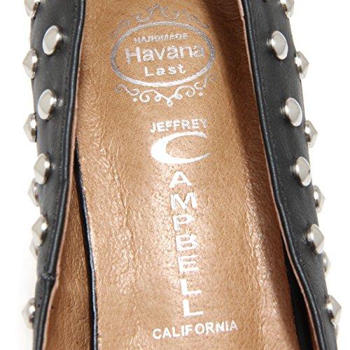 6098H sandali donna JEFFREY CAMPBELL scarpe shoes women Nero