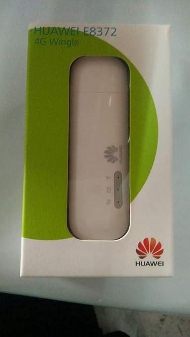 Huawei E8372 Unlocked 4G/LTE Wi Fi Wingle  White  Data Cards   Dongles