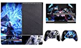 Devil May Cry Vinyl Decal Skin Sticker for Xbox One Console+ 2 Hand Controllers