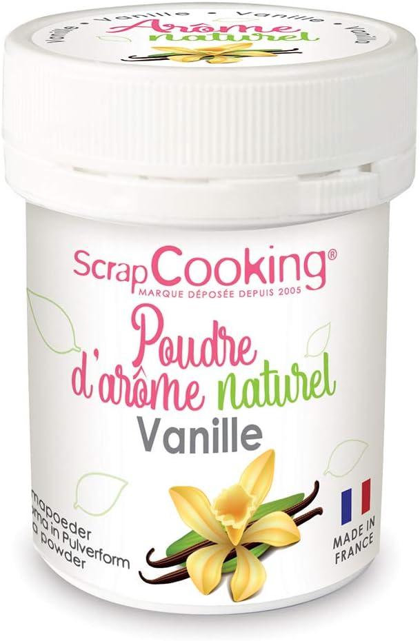 Natural food flavoring powder 15 g - Organic vanilla