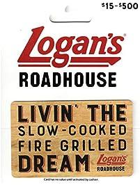 Logan's Roadhouse Gift Card