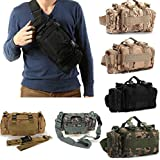 CAMTOA Utility Tactical Waist Pack Deployment Bag Pouch Military Camping Hiking Bag Outdoor Bag