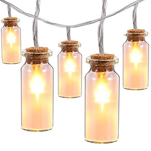 solar-string-lights-outdooroak-leaf-98-ft-30-leds-waterproof-glass-jar-led-fairy-lights-for-outdoor-