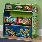 Delta Children 6-Bin Toy Storage Organizer, Ninja