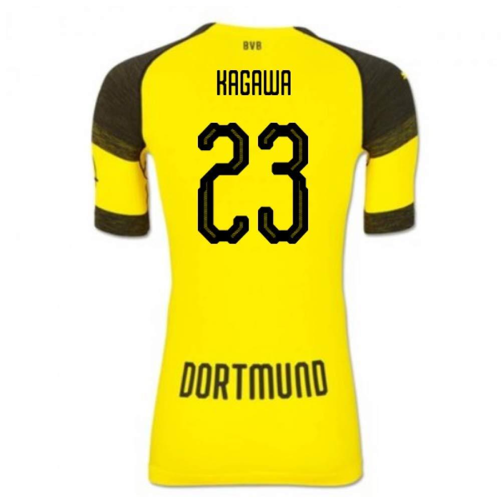 本物 2018-2019 XXL Borussia Dortmund Puma Authentic Adults Evoknit Home Football Soccer Black Tシャツジャージ(Shinji Kagawa 23) B07H9SCDFC XXL Adults Black Black XXL Adults, クサツシ:ffa73ec4 --- svecha37.ru