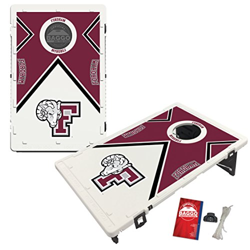 Fordham University Rams Baggo Bean Bag Toss Cornhole Game Vintage Design by Victory Tailgate