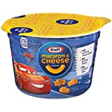 Kraft Easy Mac Cups Disney/Pixar Cars 3 Shapes, 1.9 Ounce Cans (Pack of 10)