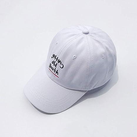 Zbicd Sombrero Señoras Moda Letras Gorras bordadas Nueva pareja ...