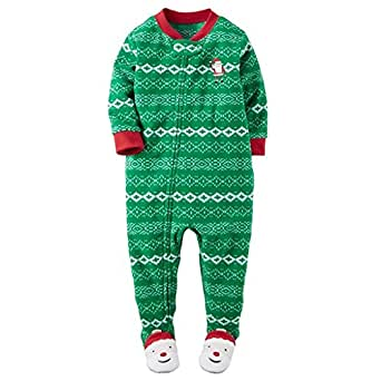 Amazon Com Carter S Boy S 5t Fair Isle Santa Clause