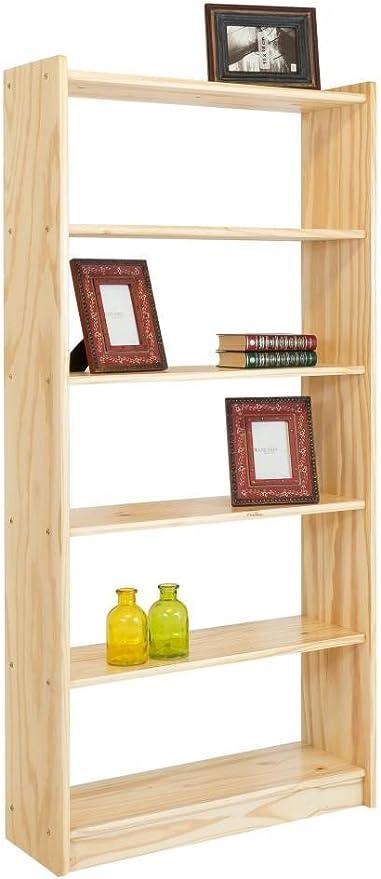 IDEA Estantería Estante Classic, 6 estantes 170 cm de Alto ...