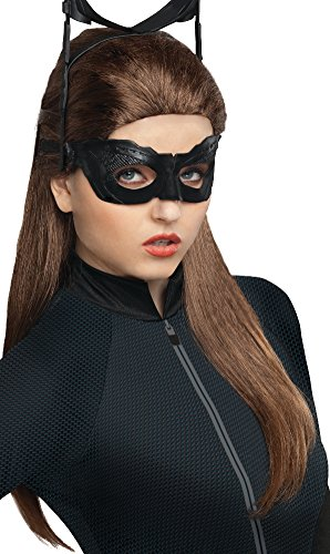 Secret Wishes Batman Dark Knight Rises Catwoman Wig, Black, One (The Dark Knight Rises Catwoman)