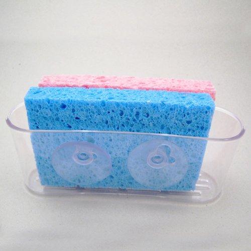 Kitchen Organizer Sponge Suction Plastic
