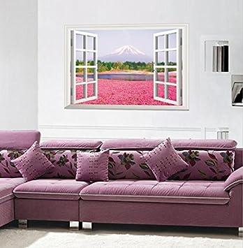 30 stereoskopische echte und gefälschte Fenster, Wandsticker ...
