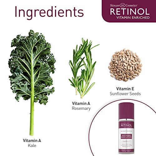 51YbDr5JItL - Retinol Anti-Aging Body Lotion - Corrective & Preventative Relief For Dry Skin With The Original Retinol - Luxurious Treatment Smooths Dry, Flaky Skin w/ Botanical Moisturizers & Vitamin A