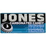 Jones Soda Candy Berry Lemonade Carbonated Candy, 0.89-Ounce Tins (Pack of 12)