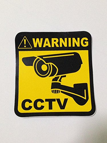 Heartgard Dog Medication (Warning CCTV Security Surveillance Camera System size 10 x 11cm. Warning Decals Stickers)