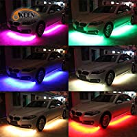 Remote Under Car Body LED Neon Light fit VAUXHALL II