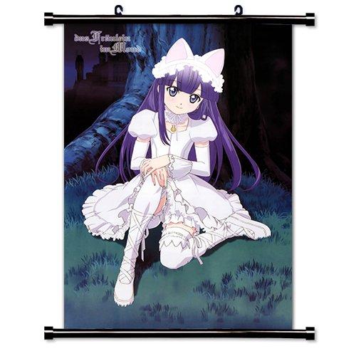 Tsukuyomi Moon Phase Anime - Tsukuyomi Moon Phase Anime Fabric Wall Scroll Poster (16x23) Inches. [WP]-Tsukuyomi Moon Phase-1