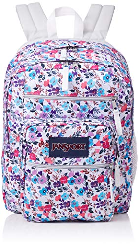 JanSport Unisex Big Student Petal To The Metal Print One Size