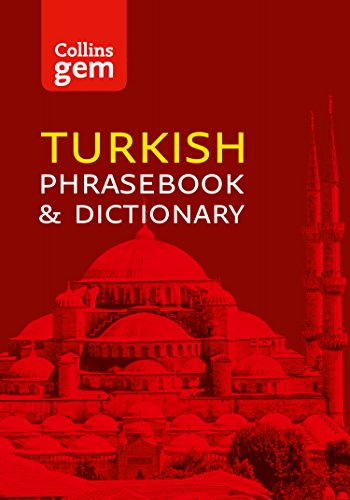 Collins Turkish Phrasebook and Dictionary Gem Edition: Essential phrases and words (Collins Gem) (Best Turkish English Dictionary)